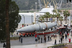 Traslado Submarino Isaac Peral