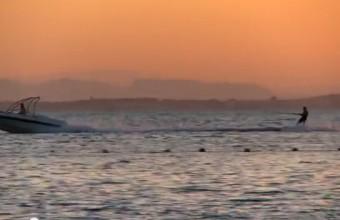 Atardecer en el Mar Menor